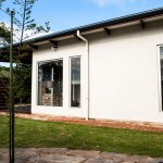Jimmy Smiths Dairy Fleurieu Peninsula luxury accommodation green courtyard.