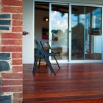 Jimmy Smiths Dairy Fleurieu Peninsula luxury accommodation front door deck.