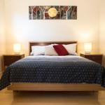 Jimmy Smiths Dairy Fleurieu Peninsula luxury accommodation queen bedroom.
