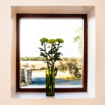Port Elliot luxury accommodation - view through the kitchen window.