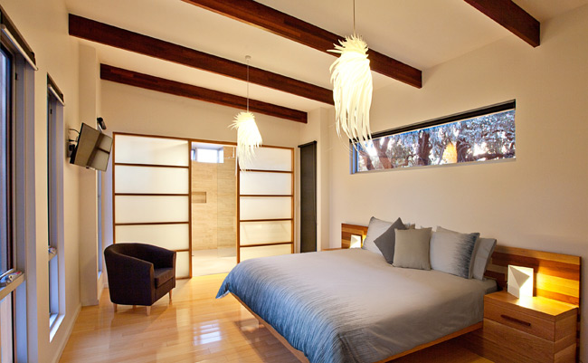 Jimmy Smiths Dairy luxury accommodation Port Elliot Fleurieu Peninsula Master Bedroom