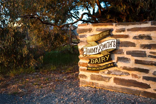 Jimmy Smiths Dairy Fleurieu Peninsula luxury accommodation South Australia