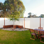 Jimmy Smiths Dairy luxury accommodation Port Elliot Fleurieu Peninsula courtyard.